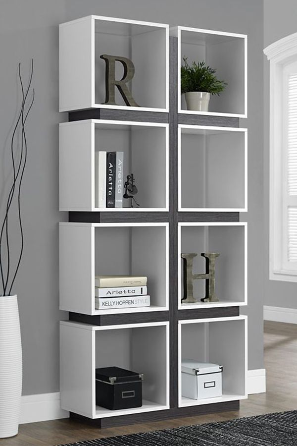 Designed For Practicality And Style In Mind This Bookshelf Has