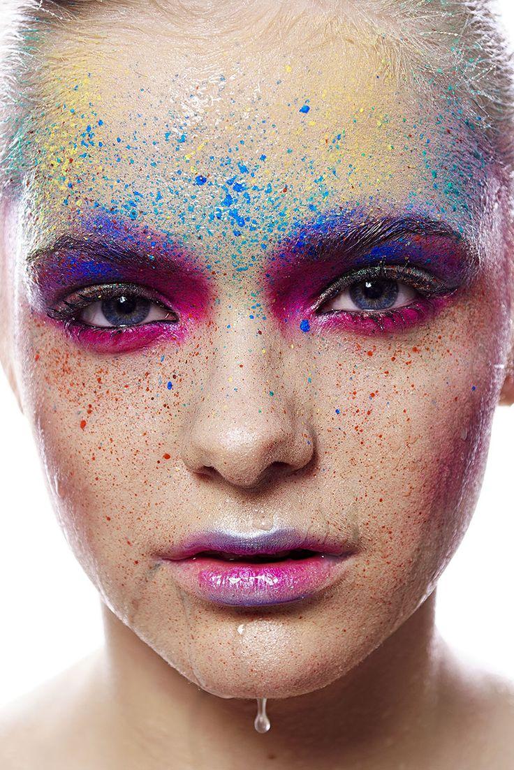 Full colors. Facepaiting, creative makeup.