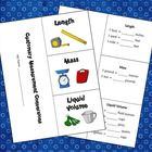 Customary Measurement Foldable is a three-flap foldable that students can use to take notes when learning about customary measurement. To create th...