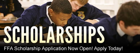 The National Future Farmers of America have 1,000 #Scholarships for #college students. #farmers #veterinarians #teachers