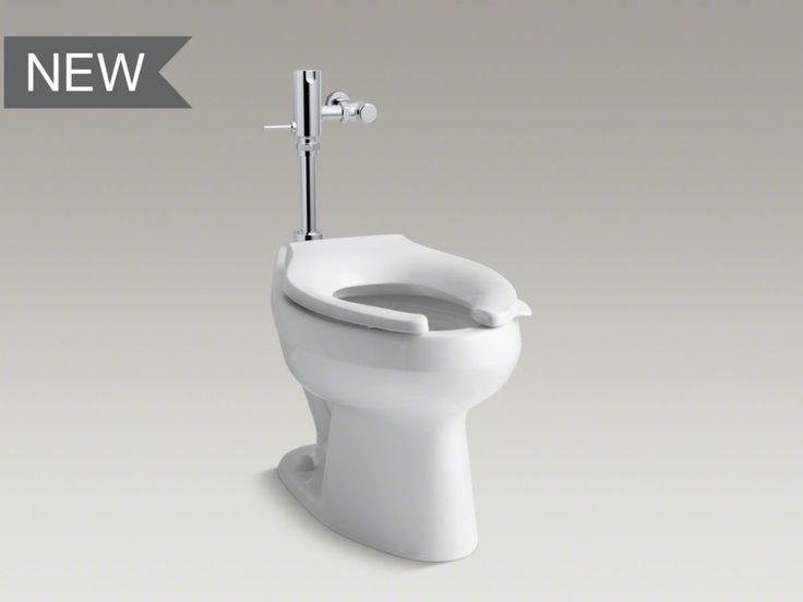 Kohler Toilet, w/ seat and Flushometer 1.28 gpf