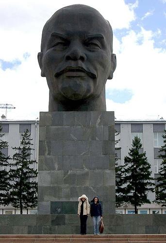Ulan Ude- home of largest Lenin head