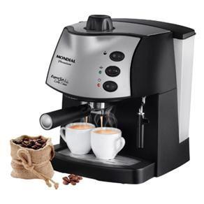 Cafeteira Expresso Mondial Coffee Cream Premium...