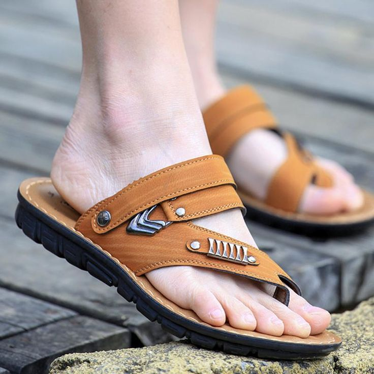 Find More Men's Sandals Information about ADK Best selling Classic Design Men Sandals High Quality Pu Leather Beach sandals Men Slippers Men Summer Shoes 38 44 big size,High Quality shoes on a shoe string,China shoe tin Suppliers, Cheap shoes with red heels from ADK International Trade Co..Ltd on Aliexpress.com