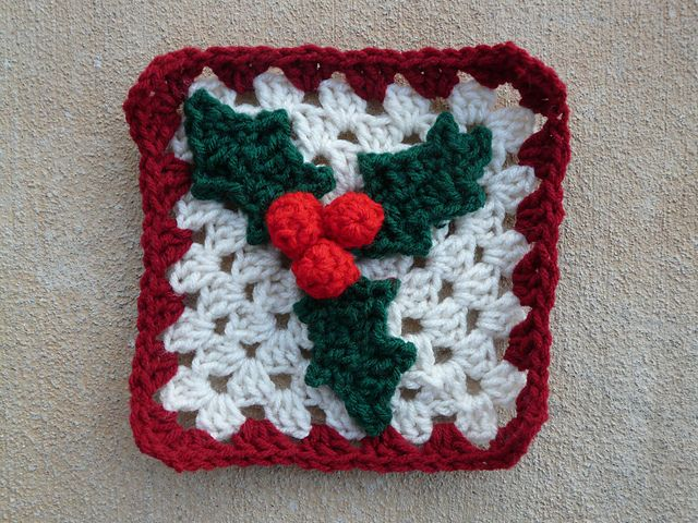 Square 62 of American School of Needlework #1216, 101 Crochet Squares