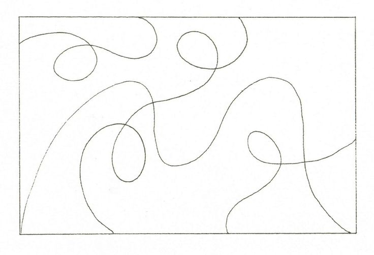 Creative Doodling with Judy West: Outlines to Copy