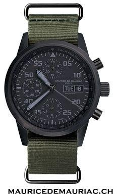 Modern style Swiss made watch from Maurice de Mauriac