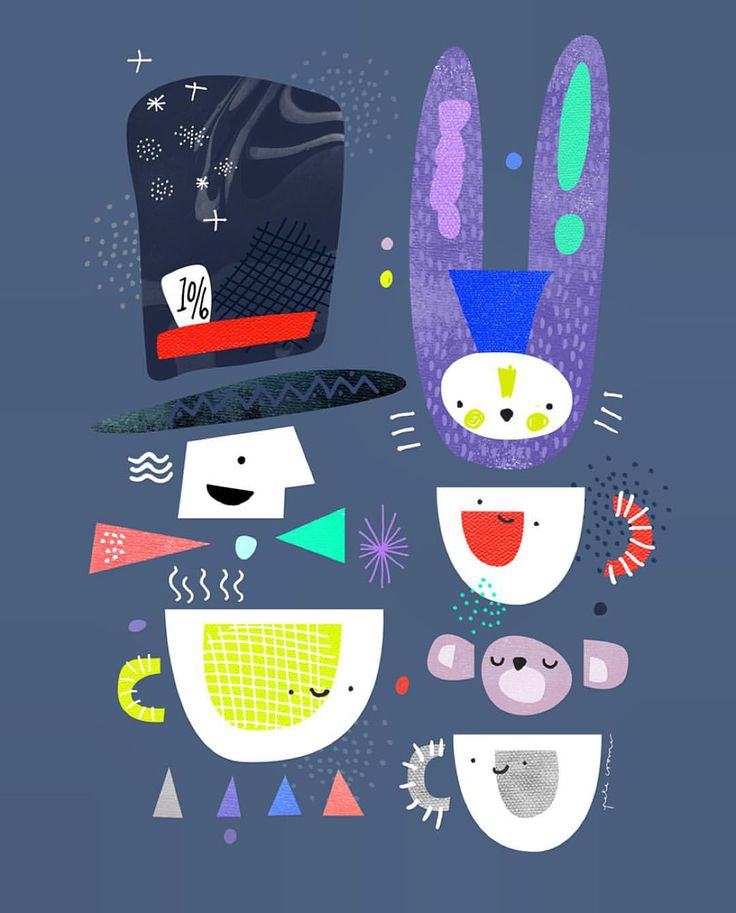 I also live with a Mad Hatter. Need this Peter Cromer Tea Party print