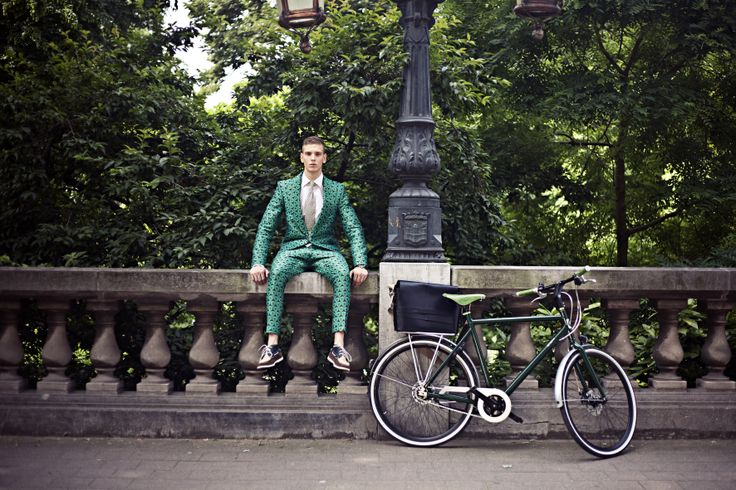 Stijlgroep: #Performance, #Fiets Speed-8 Sycamore Groen (8-speed), Kleding: by Janice