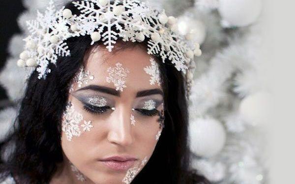 Schneeflocke Kostüm selber machen