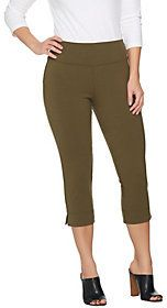 As Is Wicked by Women with Control Petite Pull-on Capri Pants