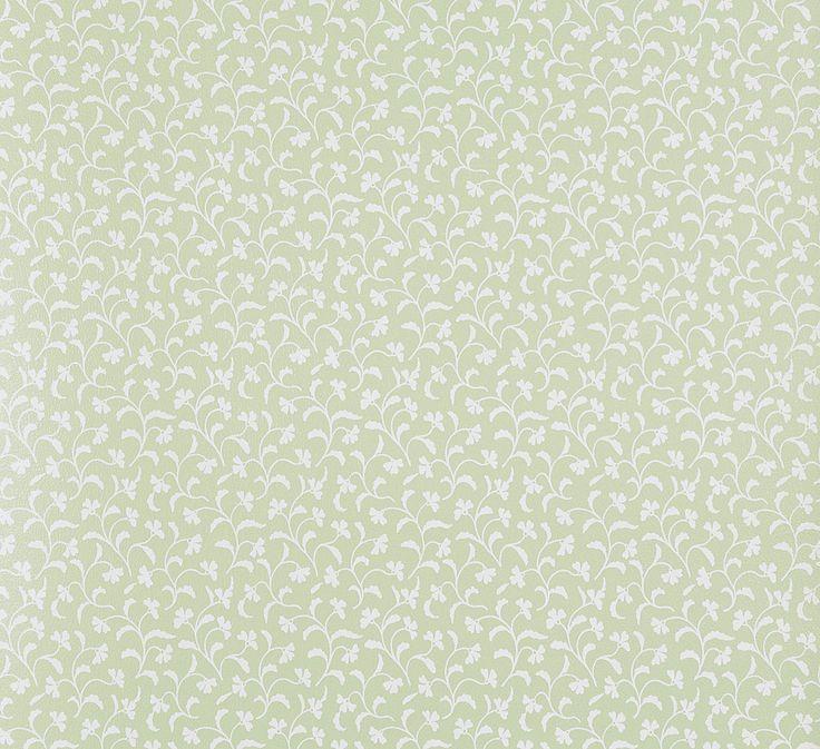 Tapete grün weiß Blumen Rasch Textil 294995