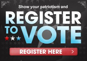 Register to Vote Here - EASY WAY TO MAKE SURE YOU'RE REGISTERED TO VOTE FOR UPCOMING ELECTION SEASON!