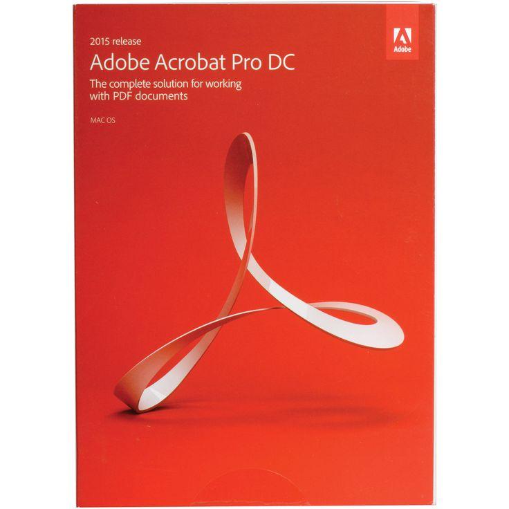 Adobe Acrobat Pro DC (Mac) (Instant)