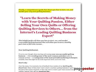nice How to Start Your Own Quilting Business
