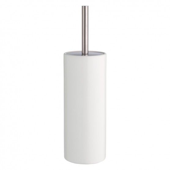 Habitat   THAMES White ceramic toilet brush and holder (£16)