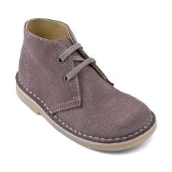 Suede Lace-up Classics Children's Boots