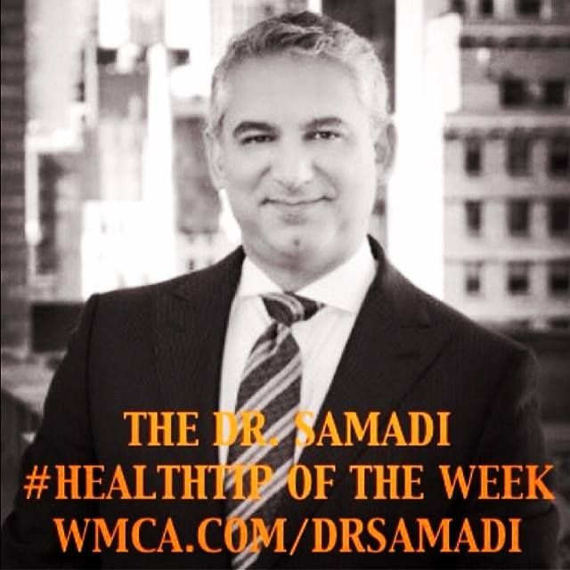 How much salmon should I be eating? @davidbsamadi has the answer within the #HealthTip of the Week! Head to www.WMCA.com/drsamadi