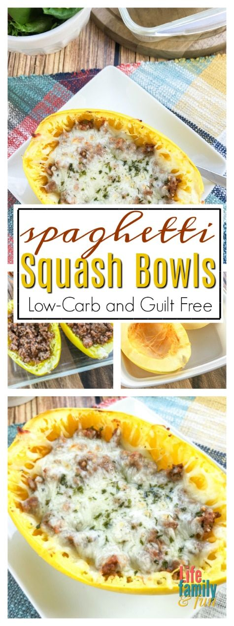 Low Carb Gefüllte Spaghetti Squash Schalen: Genießen Sie Spaghetti ohne Schuldgefühle