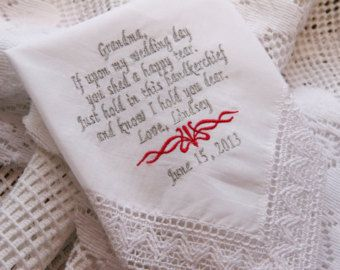 Gift Boxed-Grandpa Grandfather Gift Embroidered Wedding by elgies