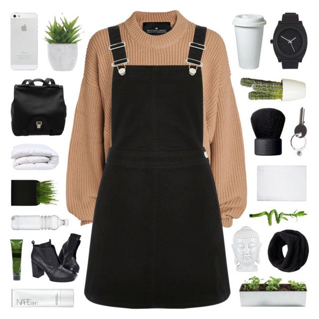 """""""Yuletide"""" by bosspresident ❤ liked on Polyvore featuring Designers Remix, Oasis, Lux-Art Silks, Proenza Schouler, Cheap Monday, Aesop, NARS Cosmetics, Nixon, Maison Margiela and Simple Life"""