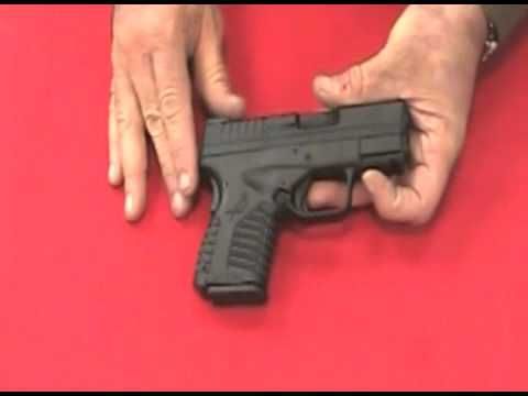 Springfield XDS 45 ACP Field strip Clean lube &reassemble & review