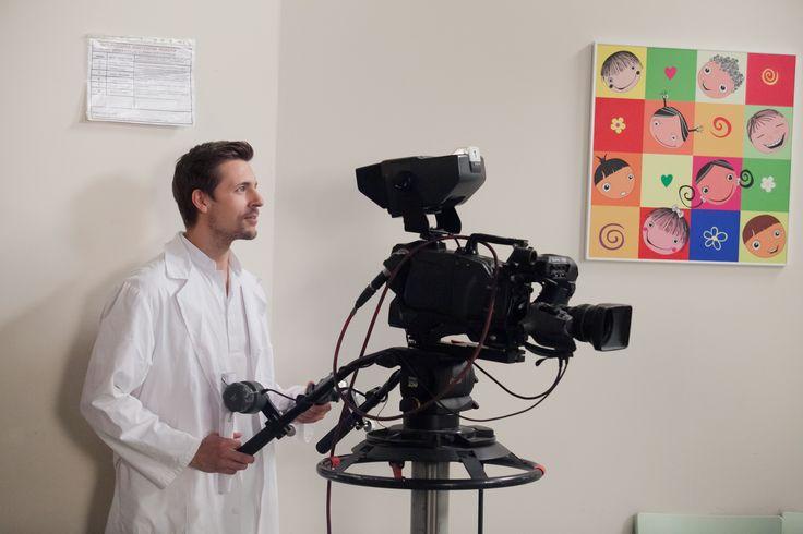 Doktor Martin Rozner/Juraj Loj sa na chvíľu zahral na kameramana a musíme povedať, že ho to celkom bavilo :-)