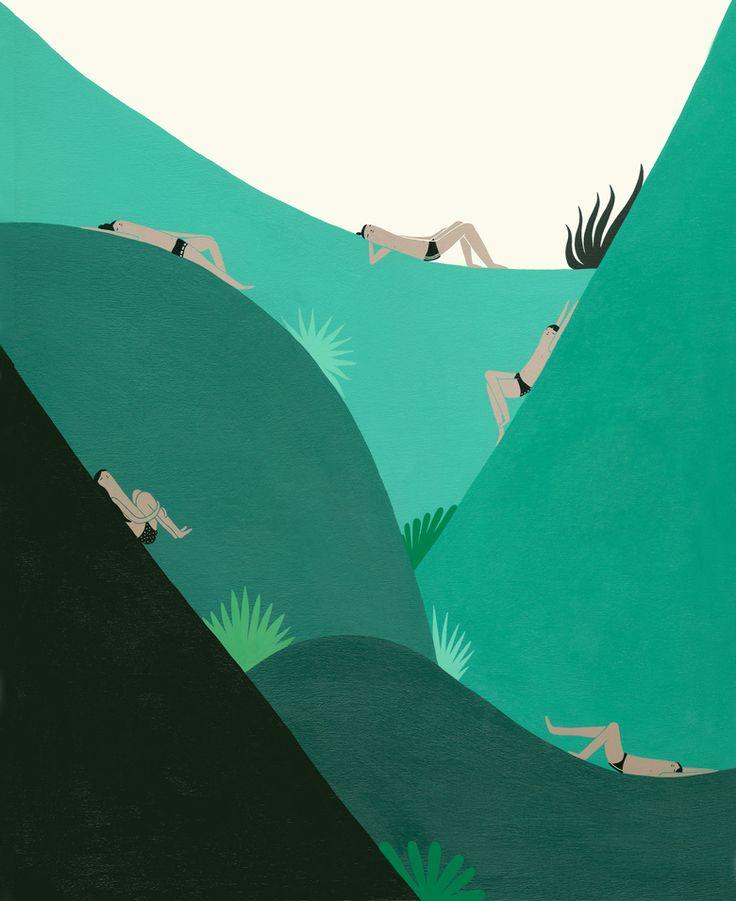 Laura Berger Paintings – Sarah Le Donne Blog