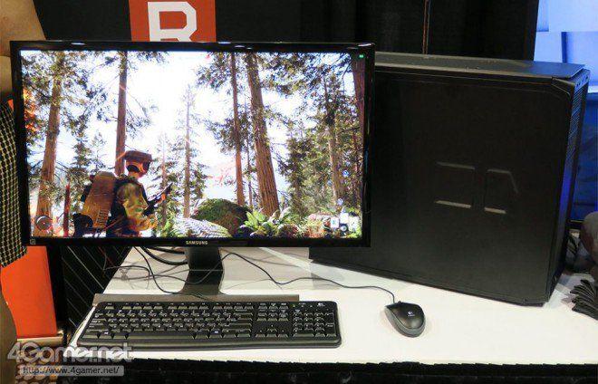 AMD Ryzen e VEGA, nuova demo al CES con Star Wars Battlefront a 4K@60FPS | video http://www.sapereweb.it/amd-ryzen-e-vega-nuova-demo-al-ces-con-star-wars-battlefront-a-4k60fps-video/         AMD Ryzen e VEGA In attesa dell'evento di domani, dedicato alla nuova architettura Vega, presso lo stand AMD si è potuto assistere a un'altra demo dei processori Ryzen in coppia proprio con le tanto attese GPU Vega. La macchina assemblata dallo staff AMD per la ...