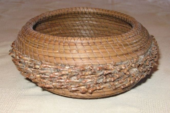 Gratiot Lake Basket Weaving Supplies : Images about pine needle baskets on