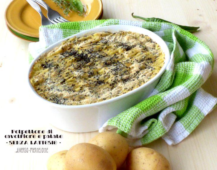 #polpettone di cavolfiore e patate #dairyfree