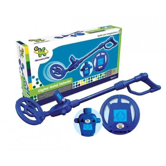 Discovery Kids - Digital Metal Detector This is something I always wanted as a kid, and after watching people on the beach searching for treasure, my kids would love one too! #Entropywishlist #pintowin