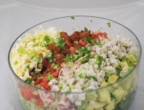 Famous Brown Derby restaurant was a Hollywood hangout for the stars - this is the classic Cobb Salad With Brown Derby Dressing Recipe served there