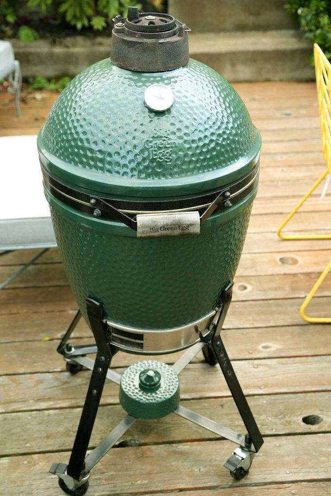 The Big Green Egg is by far the easiest and most user-friendly charcoal grill I've ever worked with.