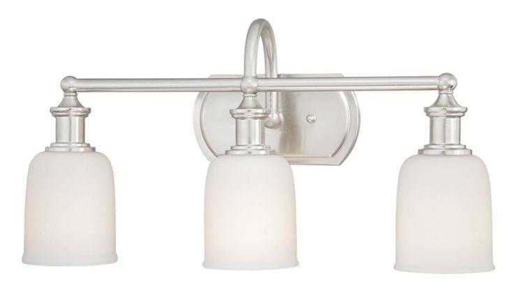 View the Vaxcel Lighting W0013 Elliot 3 Light Bathroom ...