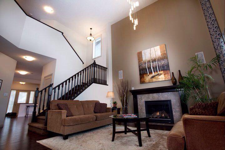 Living room built by Jayman