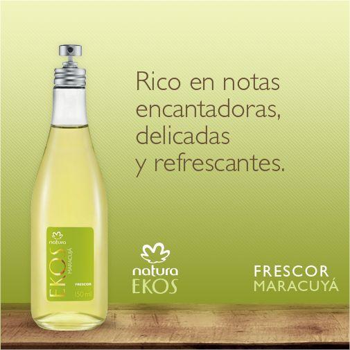 Fragancias inspiradas en la exuberancia de la selva.   ¡Natura Ekos, somos producto de la naturaleza!
