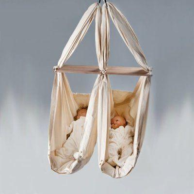 NONOMO Miet-Zwillings-Babywiege