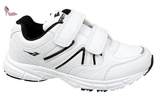 gibra , Baskets pour femme - blanc - blanc/noir, - Chaussures gibra (*Partner-Link)