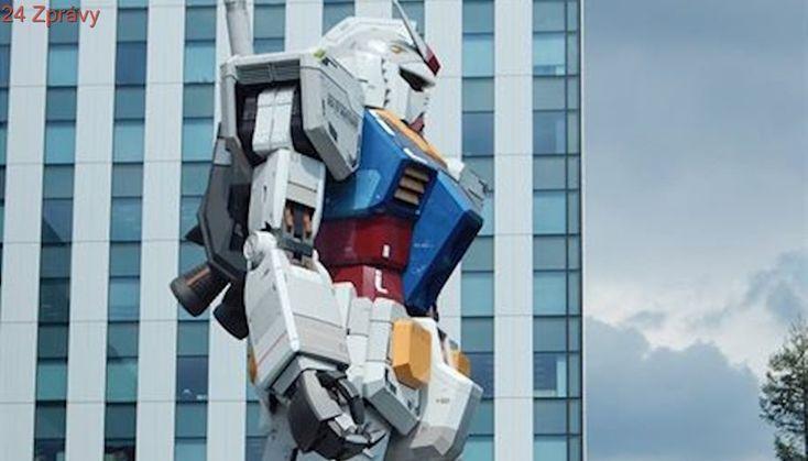 Turistické atrakce Japonska? Zmenšená Socha svobody a humanoidní robot Gundam