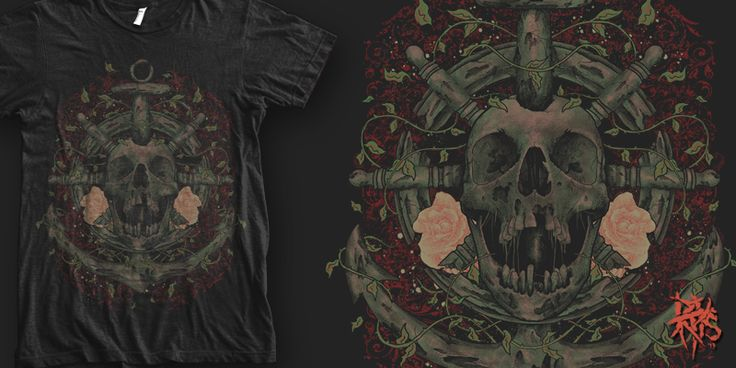 """Djankar  [ FOR SALE ]"" t-shirt design by RectopusArt"