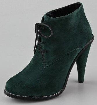 green & suede