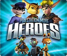 - PlayStation Move Heroes for PlayStation 3 (Downloadable Content)