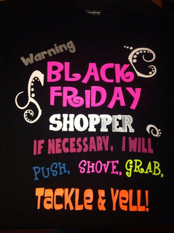 Black Friday shirts on Etsy, $20.00