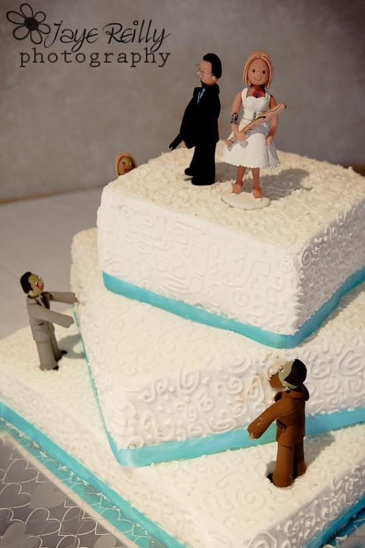 Zombie Wedding Cake FTW