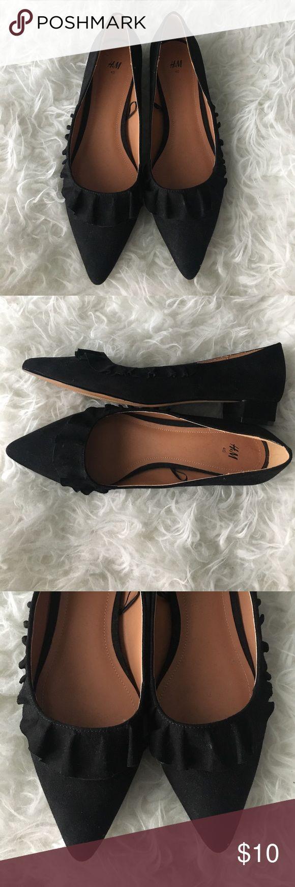 "H&M heels only worn a few times! 1"" heel. H&M Shoes Heels"