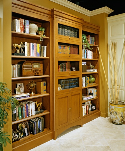arts crafts home office. This Home Office Gains Beauty And Storage With A Custom Built-in Bookcase. Built Quartersawn Oak, Arts-and-Crafts Style Furniture-quality Wall Arts Crafts