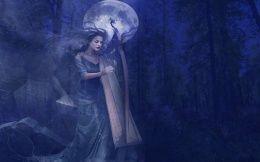 Ночная арфа для призраков из прошлого