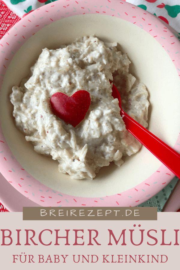 Bircher Müsli für Baby und Kleinkind | Rezept | Bircher ...