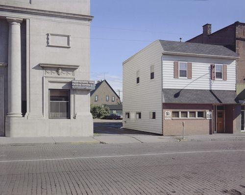 Stephen Shore, Second Street, Ashland, Wisconsin. at MOMA
